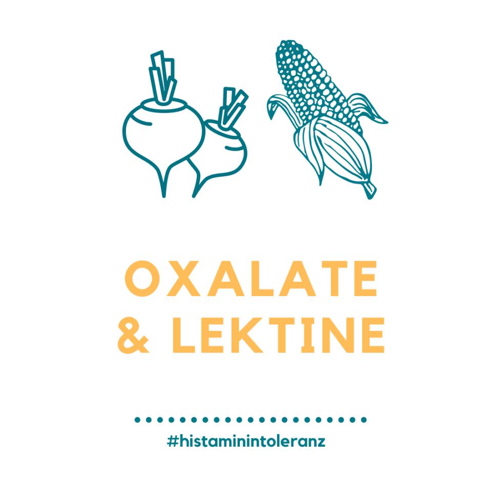 Histamin-Intoleranz, Oxalate & Lektine