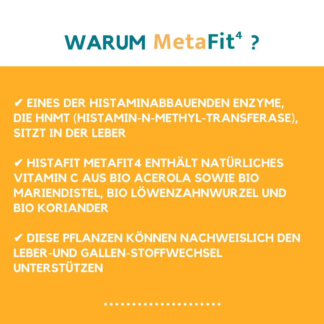 HistaFit MetaFit-4 Vorteile